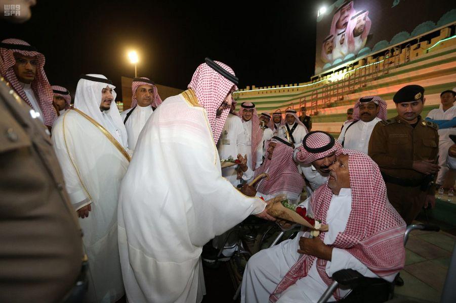 Губернатор провинции Джуф посетил народные мероприятия по случаю Ид аль-фитр