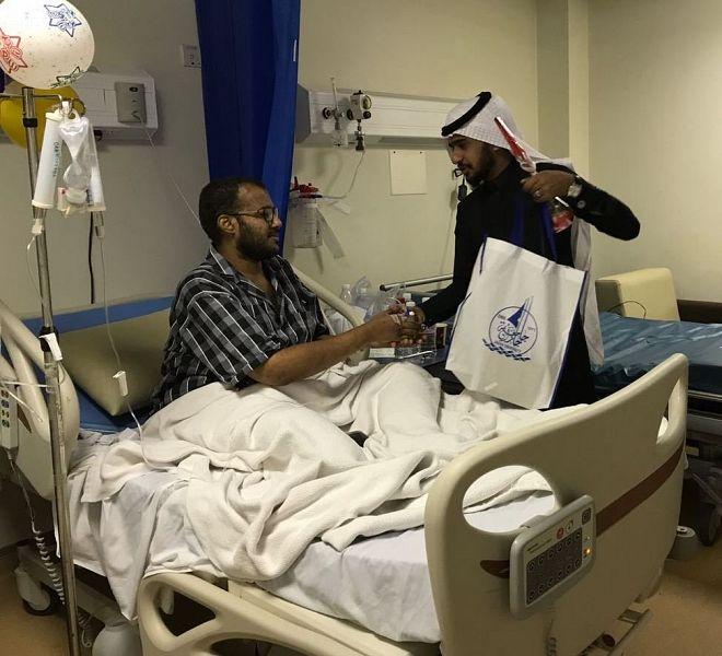 Университет Джазана организовал посещение пациентов больницы им.Мухаммада бин Насира