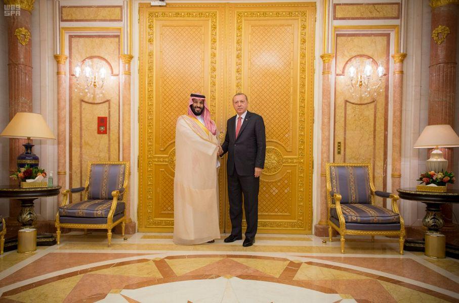 Его Высочество наследный принц встретился с президентом Турции и обсудил недавние события в регионе
