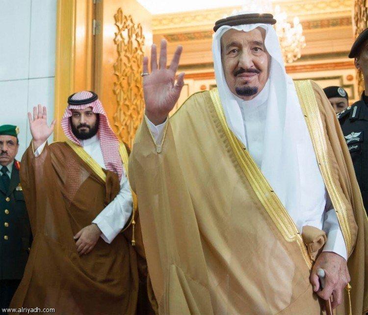Служитель Двух Святынь и наследный принц поздравили Короля Марокко с годовщиной его правления