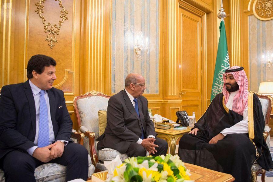 Заместитель Служителя Двух Святынь встретился с министром иностранных дел Алжира