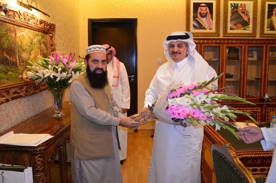 Посол Служителя Двух Святынь в Пакистане встретился с несколькими членами Сената Пакистана