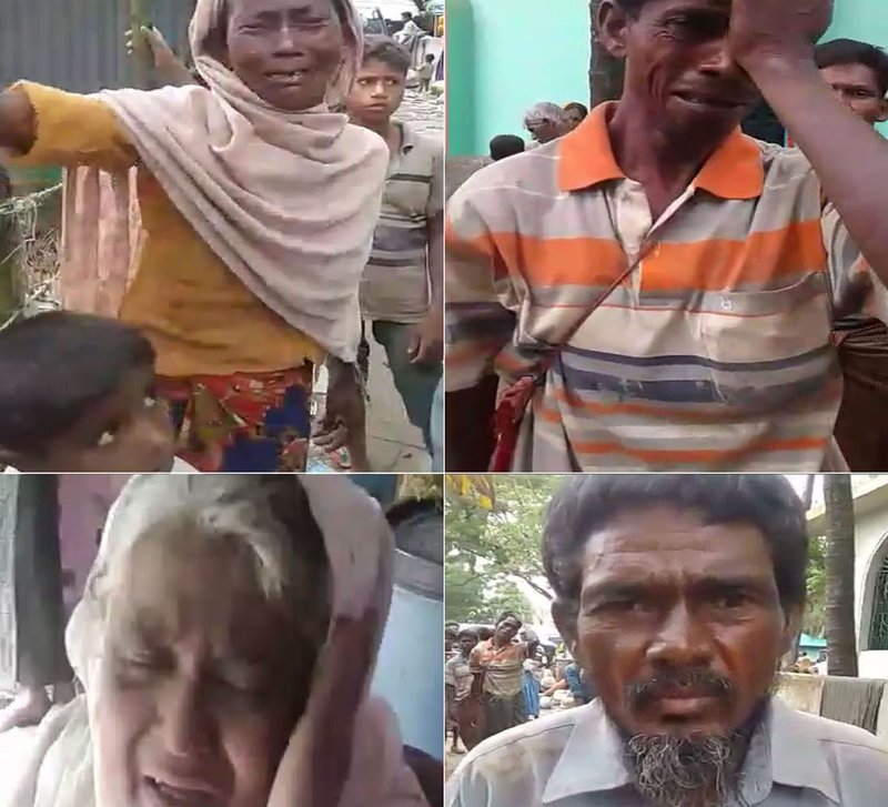 Мусульмане, бежавшие из ада в Бирме рассказывают порталу «Сабк» правду об актах насилия и зверств, учинённых бирманской армией