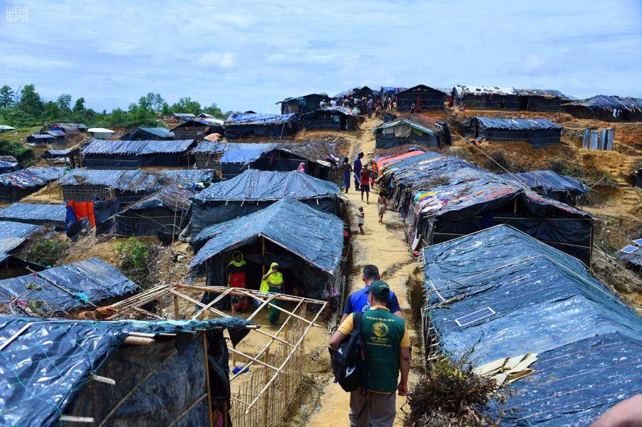 Бригада Центра гуманитарной помощи им.Короля Салмана продолжает осмотр лагерей беженцев-рохинья