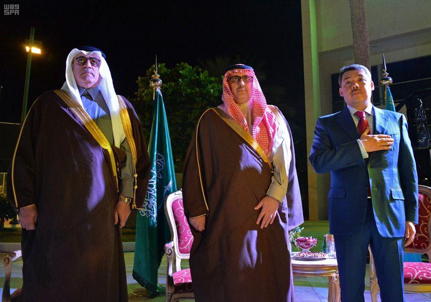 Глава администрации провинции Эр-рияд посетил церемонию в посольстве республики Казахстан