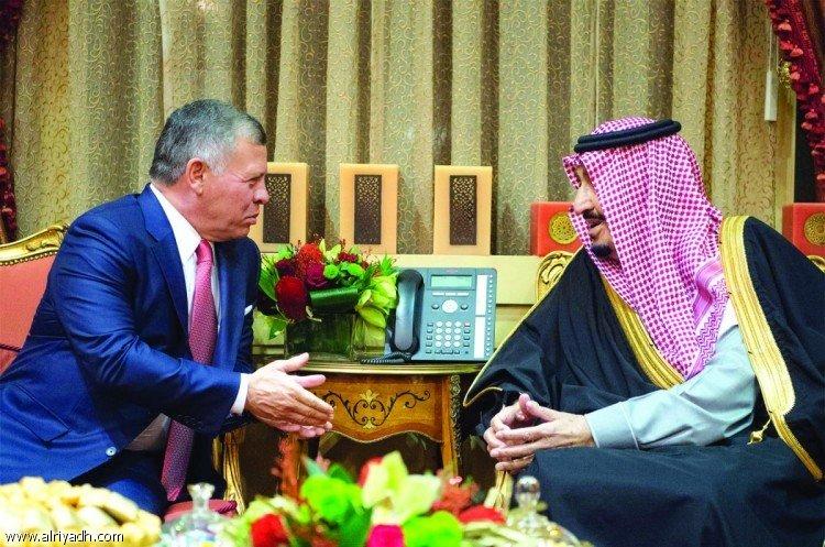 Служитель Двух Святынь и Король Иордании провели двусторонние переговоры