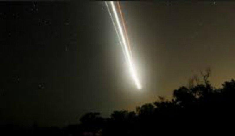 Подданный запечатлел на камеру мобильного телефона яркий объект в небе над округом Риджал Алма