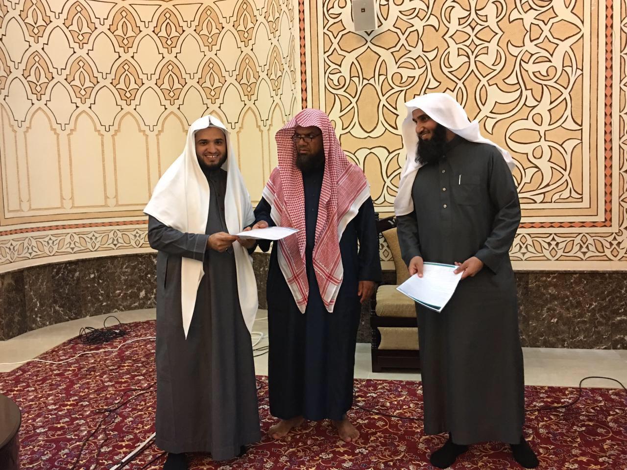Поздравление завершивших цикл обучения по теме «аль-Хаваши ас-Сабигат» по фикху имама Ахмада у шейха аль-Куайми