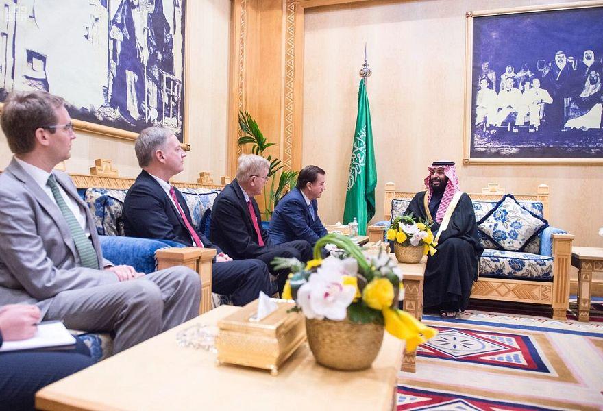 Его Высочество наследный принц принял председателя комитета по иностранным делам Палаты представителей США