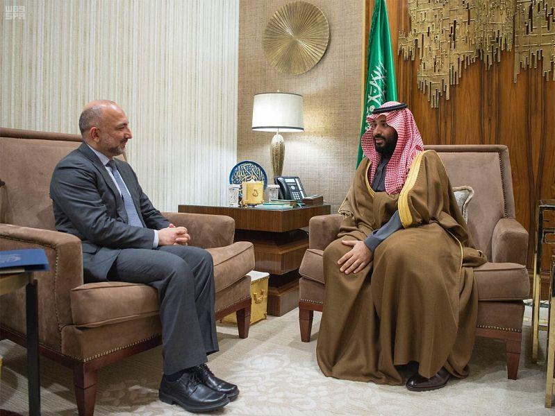 Его Высочество наследный принц принял советника по национальной безопасности Афганистана