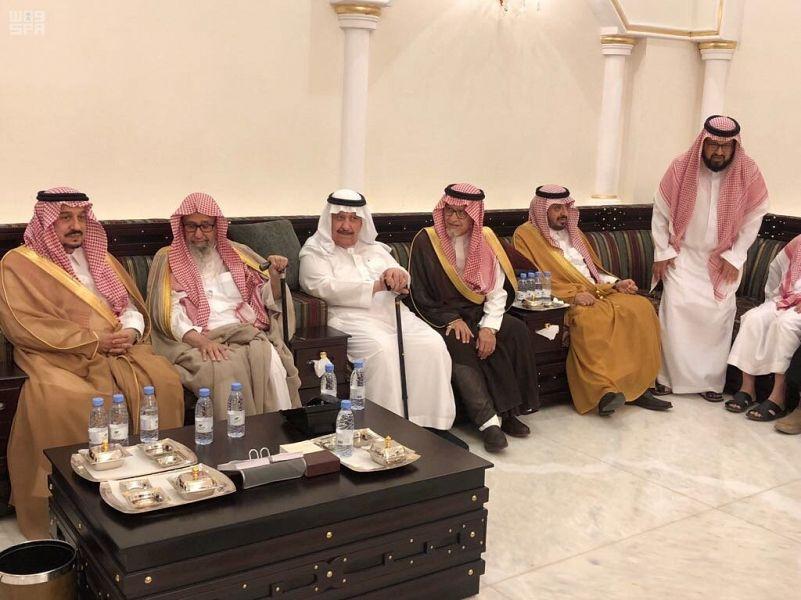Губернатор провинции Эр-Рияд принёс соболезнования ввиду кончины матери принца Сауда бин Салмана
