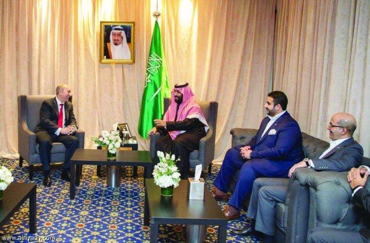 Его Королевское Высочество наследный принц встретился с исполнительным директором компании FTSE