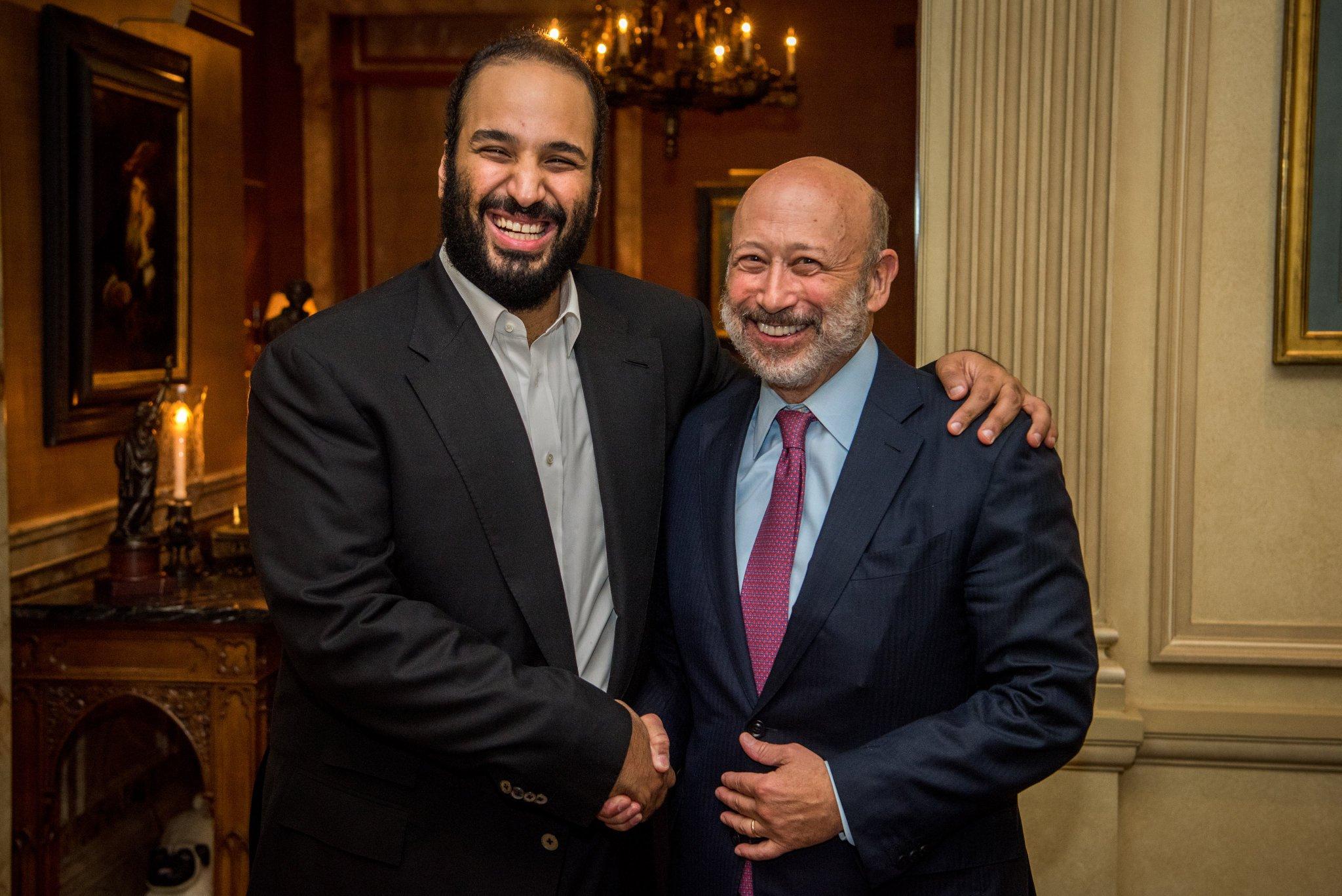 Глава Goldman Sachs: наследный принц впечатляет, и впечатляет положительно, он способен справлятся с давлением