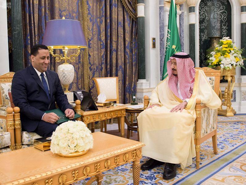 Служитель Двух Святынь получил послание от президента Исламской республики Мавритания