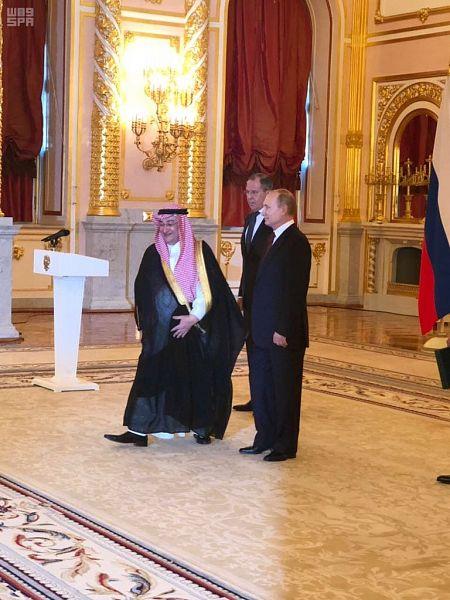 Посол Королевства в Российской федераци вручил верительные грамоты президенту России