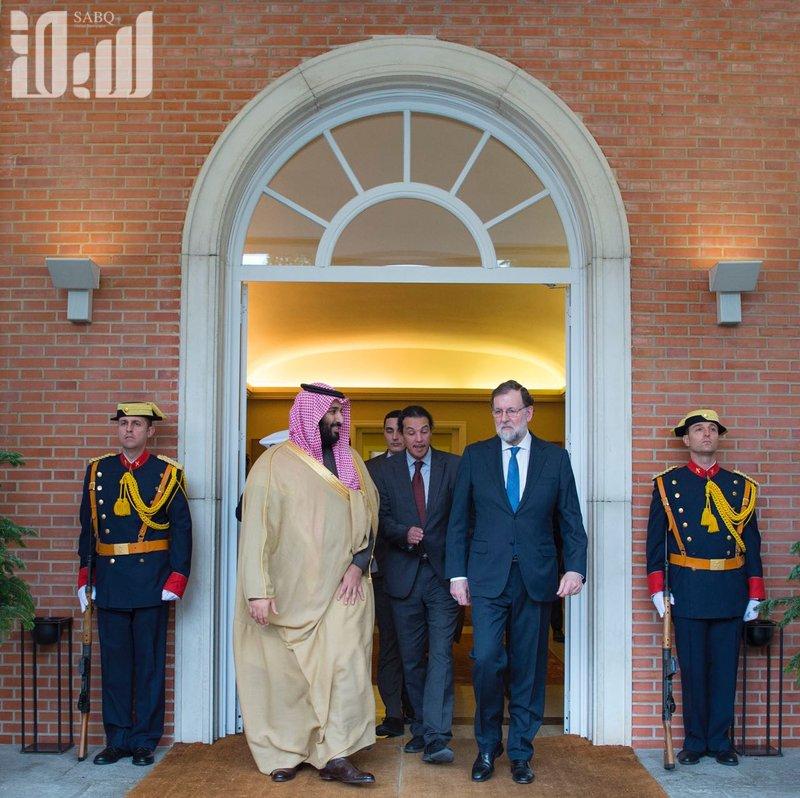 Наследный принц подписал 6 договоров и меморандумов о взаимопонимании с премьер-министром Испании