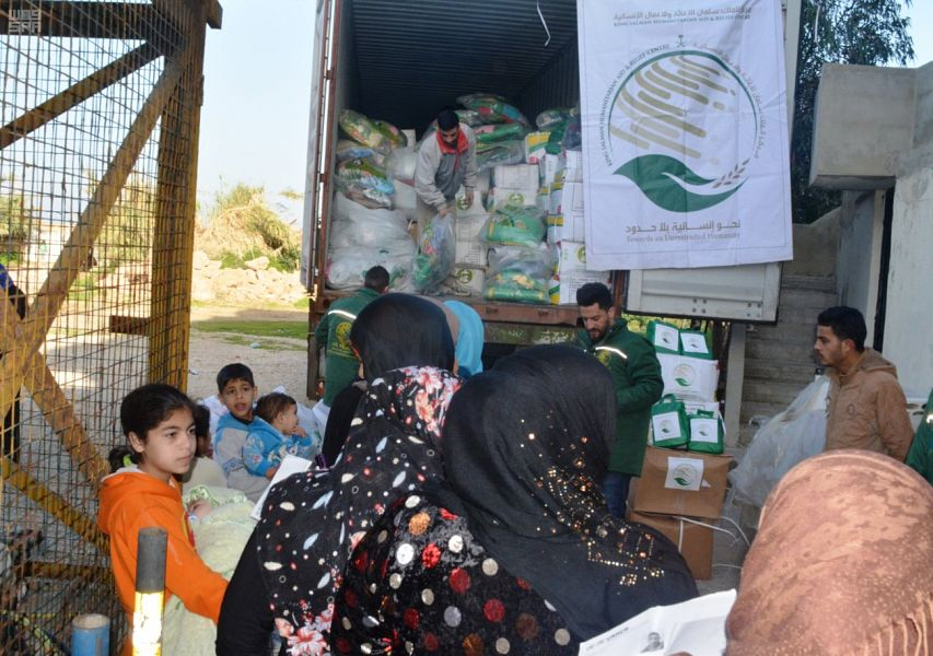 Центр им.Короля Салмана доставляет гуманитарную помощь сирийским беженцам в Ливане