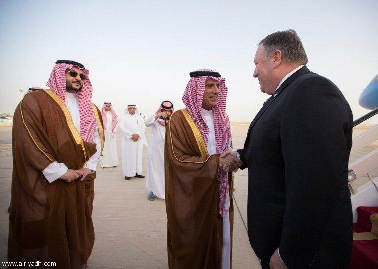 Новый госсекретарь США Майк Помпео прибыл в г.Эр-Рияд