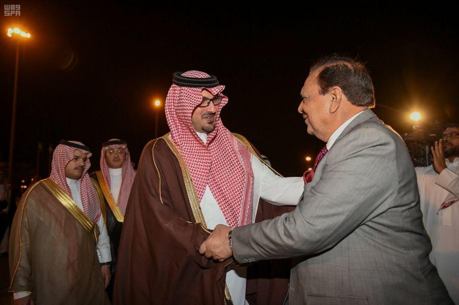 Президент Пакистана прибыл в Лучезарную Медину
