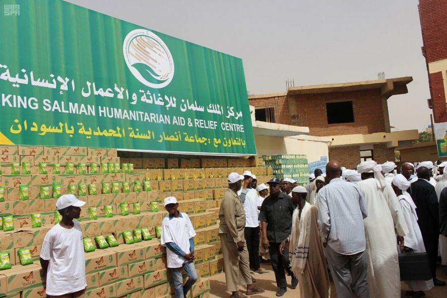 Центр гуманитарной помощи им.Короля Салмана открыл проект доставки наборов для ифтара постящимся в Судане