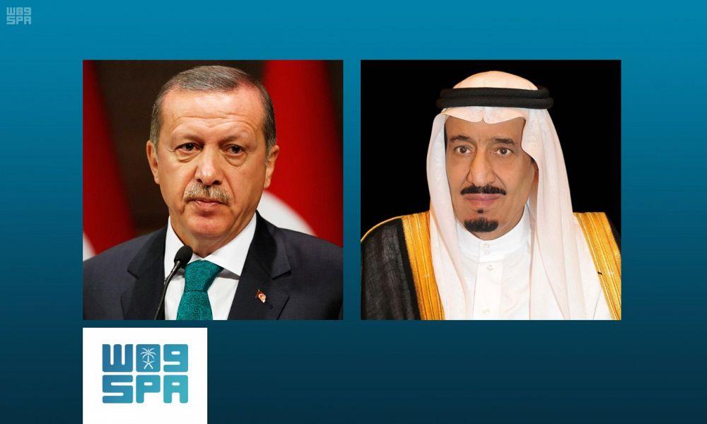 Служитель Двух Святынь принял телефонный звонок от Его чести президента Турции