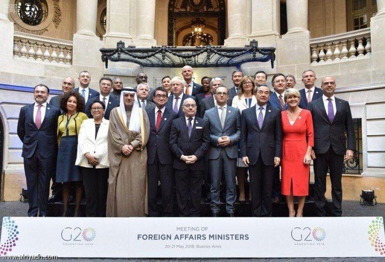 аль-Джубейр возглавил делегацию Королевства на саммите G20 на уровне министров иностранных дел