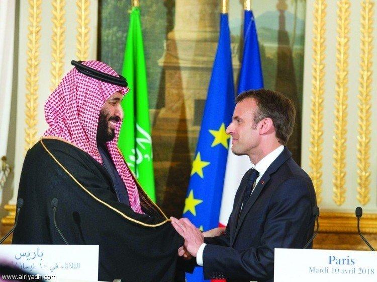 Наследный принц совершил телефонный звонок президенту Франции