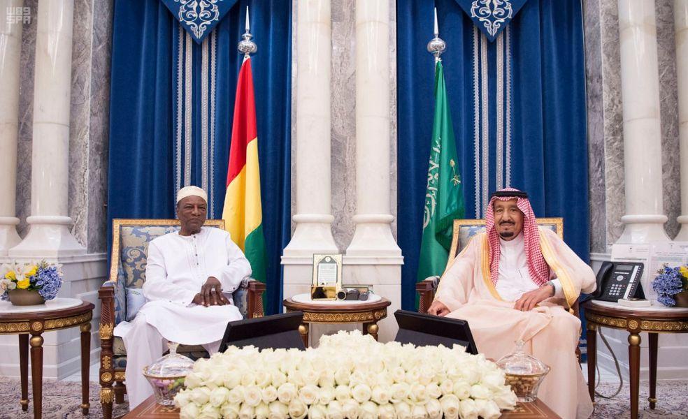 Служитель Двух Святынь провёл переговоры с президентом республики Гвинея