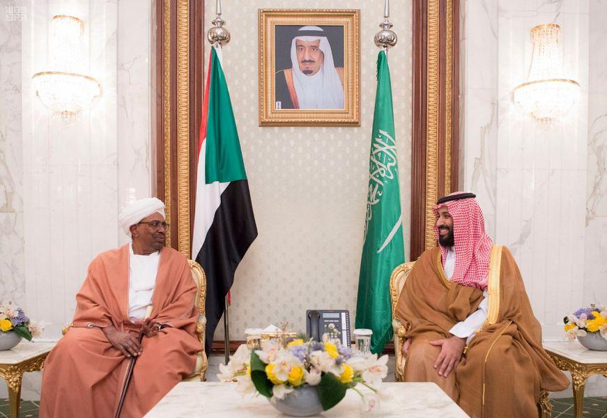 Его Высочество наследный принц встретился с президентом Судана