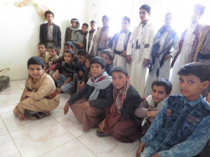 Центр  им.Короля Салмана запускает   этапы программы реабилитации детей-солдат в Йемене