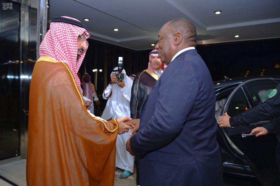 Президент ЮАР прибыл в г.Джидда