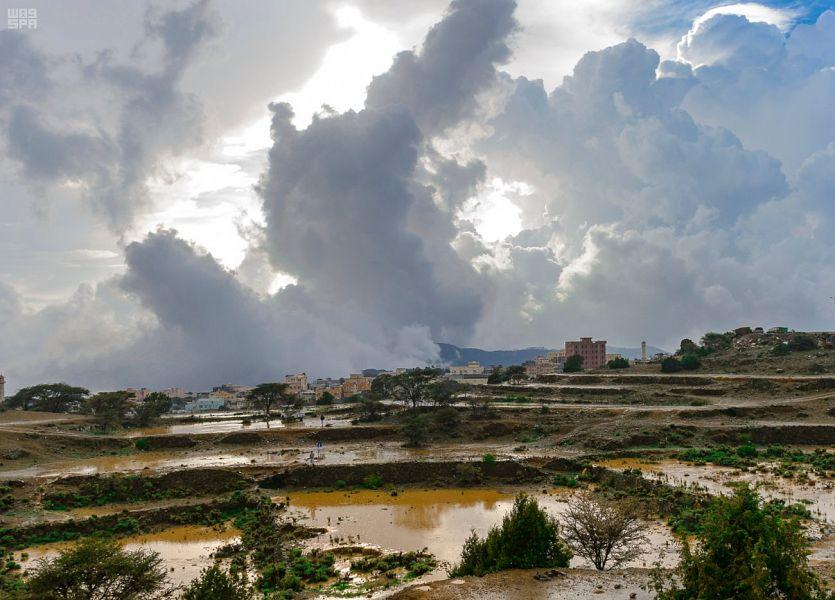 Дожди в провинции Баха