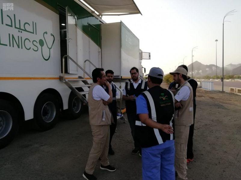Министерство здравоохранения оборудовало для нужд  паломников 94 медицинских пункта в святых местах