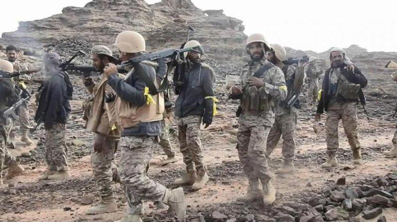 Армия Йемена продолжает зачистку позиций, освобождённых в муниципалитете Хайран провинции Ходжа