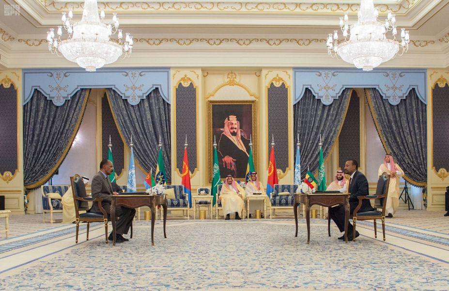 Президент государства Эритрея и премьер-министр Эфиопии подписали новый  договор о мире между странами