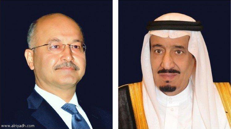 Служитель Двух Святынь поздравил по телефону нового президента республики Ирак
