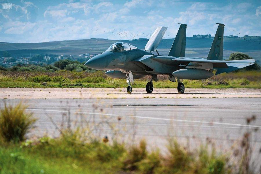 Завершилось прибытие самолётов Королевских ВВС Саудии, участвующих в совместных саудийско-туниских учениях ВВС