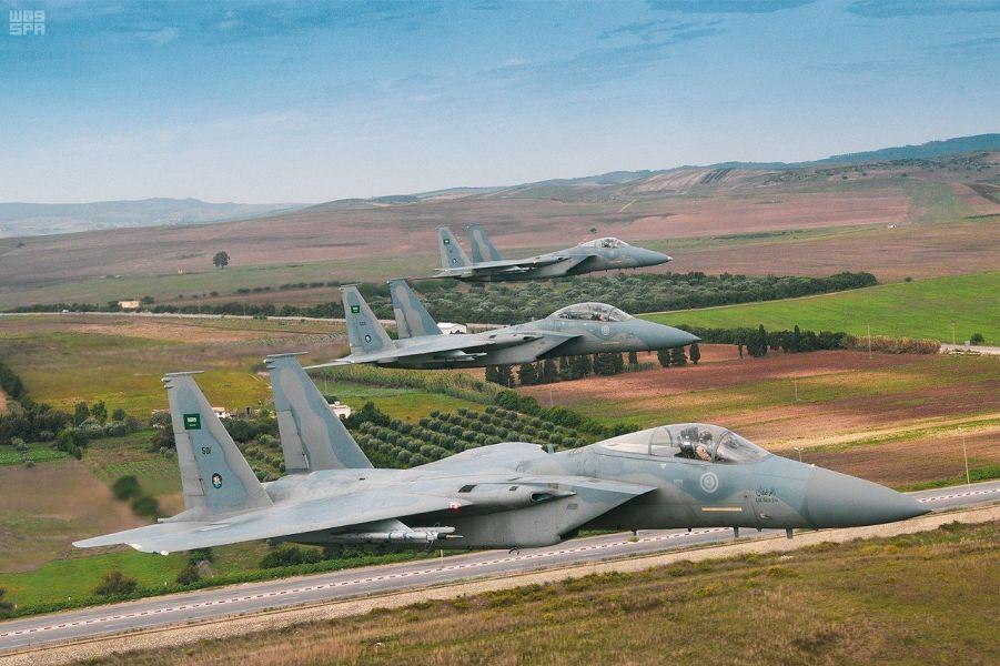 Его Высочество Командующий Королевскими ВВС посетит завтра совместные учения ВВС Саудии и Туниса