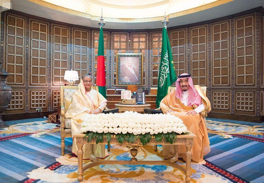 Служитель Двух Святынь провёл двусторонние переговоры с премьер-министром республики Бангладеш