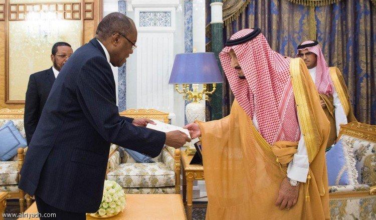 Служитель Двух Святынь получил послание от президента республики Ангола