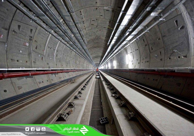 135 тыс. бетонных блоков формируют туннели метро г.Эр-Рияда