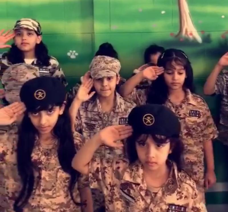 «Мой патриотизм с юных лет» — программа воспитания патриотизма у школьниц в начальных классах в начальной школе для девочек № 20 в Хавией в Таифе