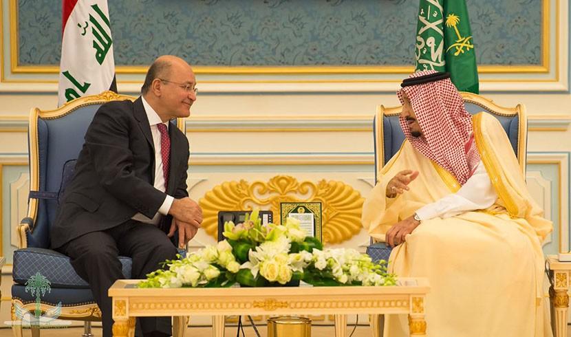 Служитель Двух Святынь принял президента республики Ирак и дал торжественный обед в его честь