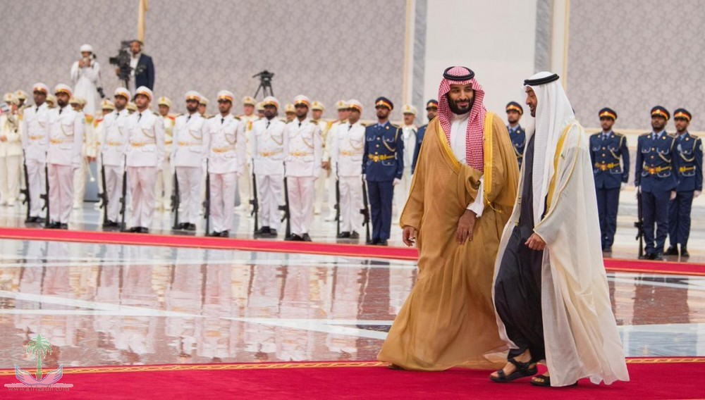 Наследный принц прибыл в ОАЭ и провёл переговоры с наследным принцем Абу Даби