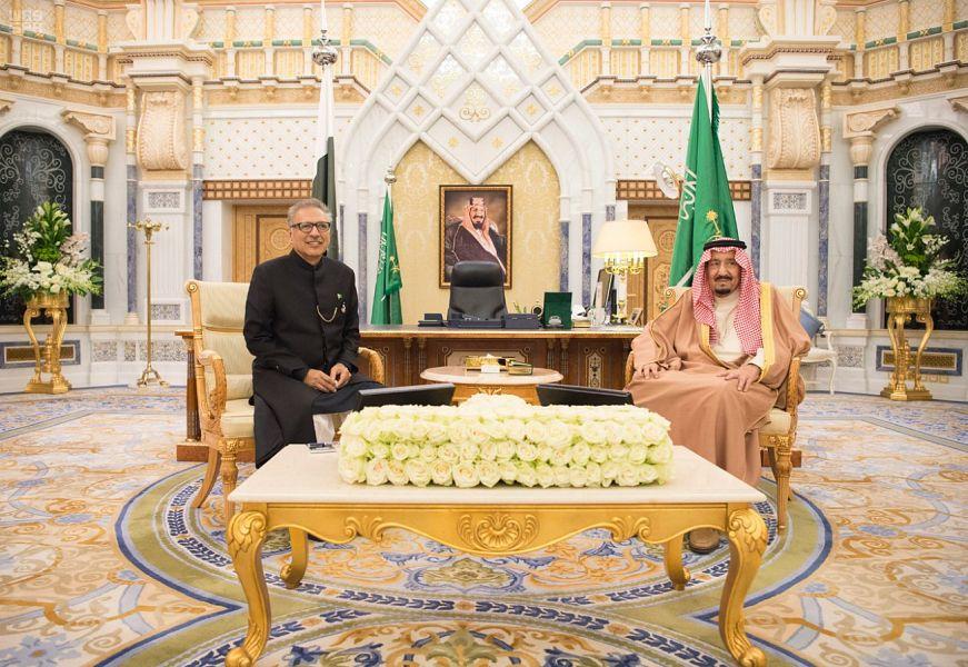 Служитель Двух Святынь принял президента Исламской республики Пакистан