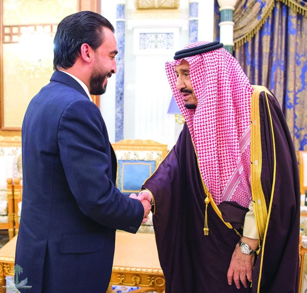 Служитель Двух Святынь принял спикера парламента Ирака