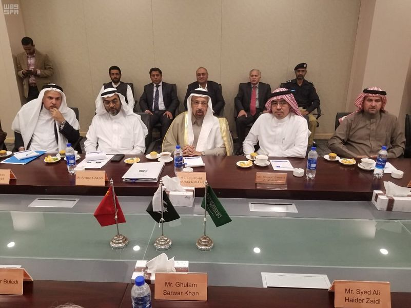 Министр аль-Фалих  встретился с министрами нефти и морских дел Пакистана