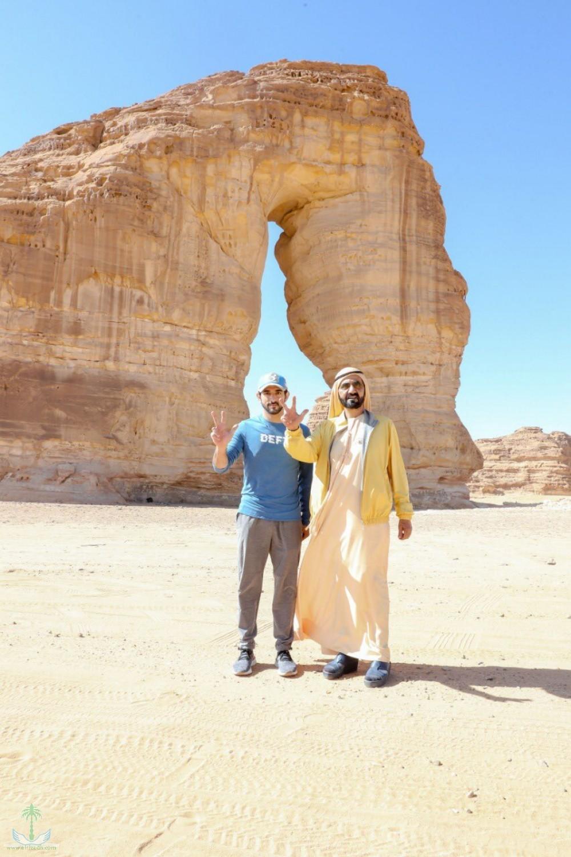 Мухаммад бин Рашид из аль-Ула: Новая цивилизация, построенная моим собратом Королём Салманом и наследным принцем