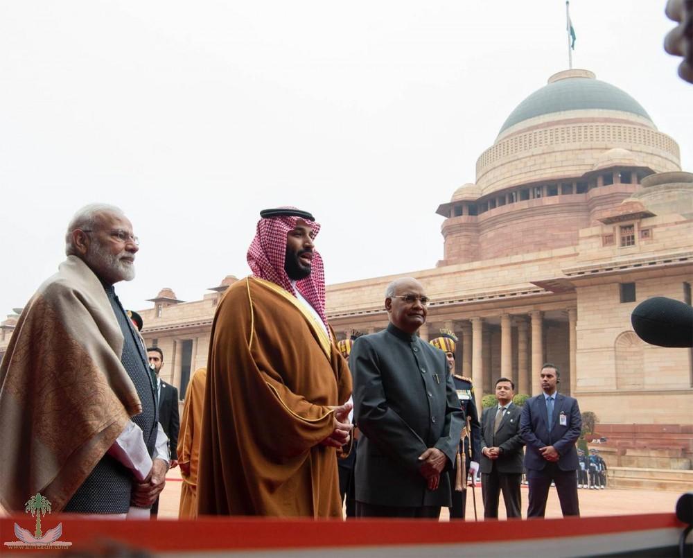Президент Индии принял Его Королевское Высочество наследного принца