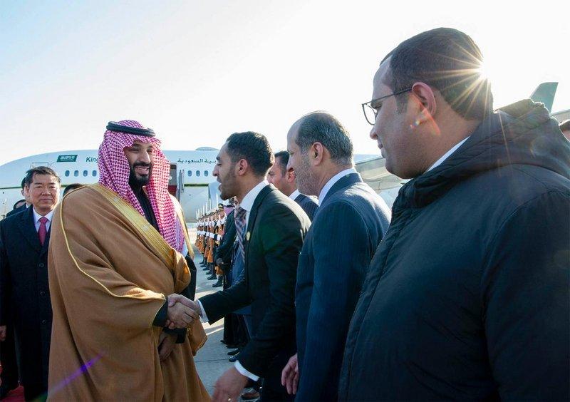 Наследный принц прибыл в Китай с официальным визитом